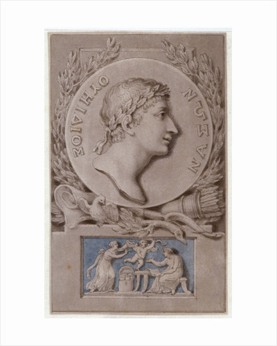 A Bas-Relief to Ovid by Corbis
