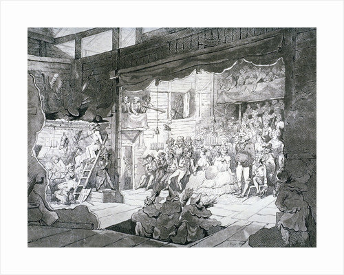 A country theatre by Anonymous