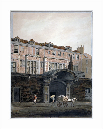 Gateway of Winchester Place, London by George Shepherd