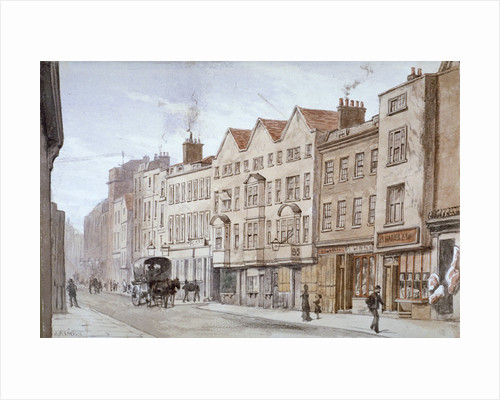 Fetter Lane, City of London by Anonymous