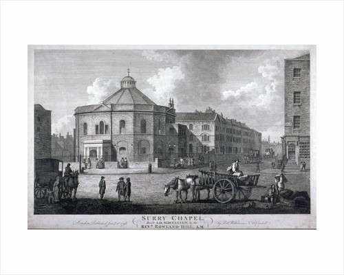 Surrey Chapel, Blackfriars Road, Southwark, London by Anonymous