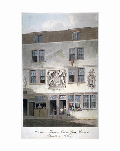 Fortune Theatre, Golden Lane, London by Anonymous