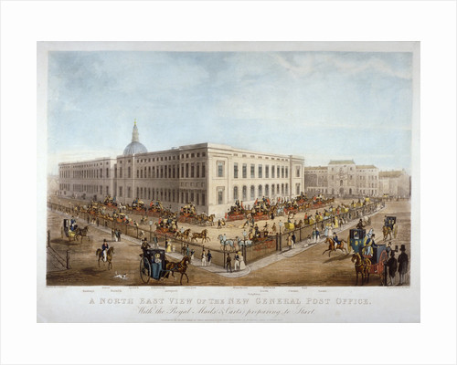 The new General Post Office, City of London by Anonymous