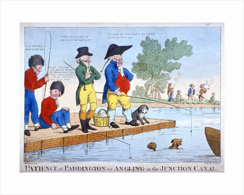 Patience at Paddington, or angling in the Junction Canal by