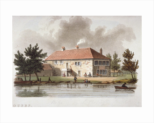 The Mitre Tavern on the Paddington Canal, London by William Pickett