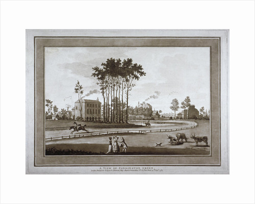 View of Paddington Green, London by Anonymous