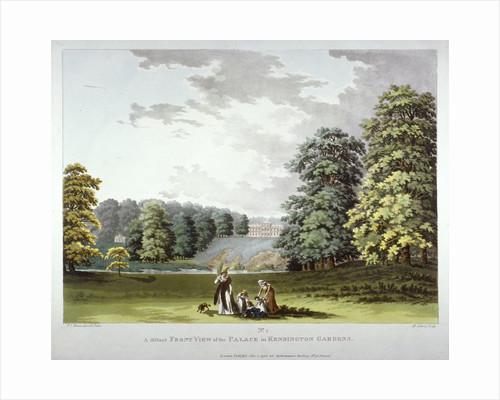 Kensington Palace and Gardens, London by Johannes Kip