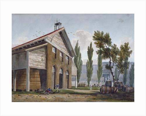 Beaufoy's Vinegar Works on the site of Cuper's Gardens, Lambeth, London by George Shepherd