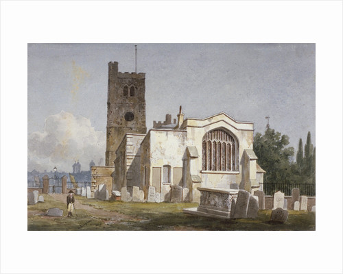 Church of St Mary at Lambeth, London by George Shepherd