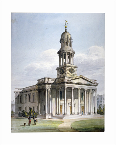 St Marylebone New Church, London by Anonymous