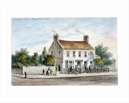 View of the Yorkshire Stingo Inn on the Marylebone Road, London by Anonymous