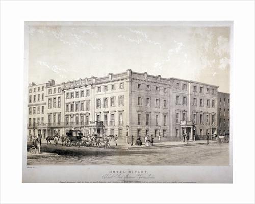 Mivart's Hotel, Brook Street, near Grosvenor Square, Westminster, London by GE Madeley