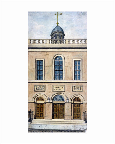 Trinity Chapel, Conduit Street, Westminster, London by Frederick Nash