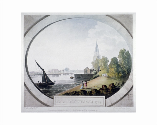 A View at Battersea by Francis Jukes
