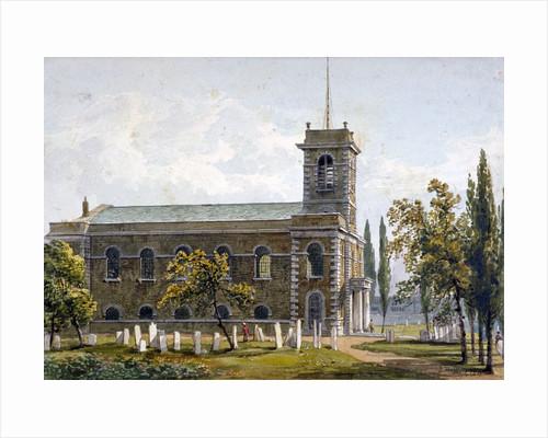 Church of St Matthew, Bethnal Green, London by George Shepherd