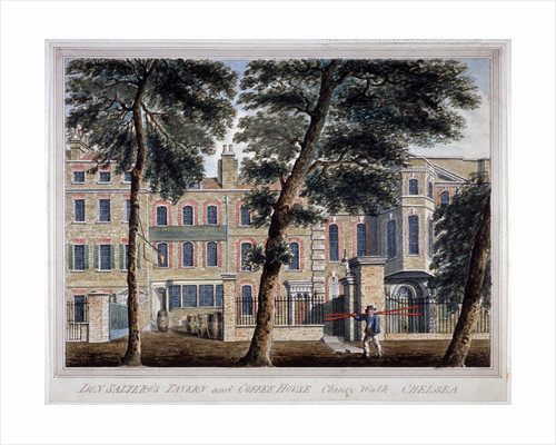 Don Saltero's tavern and coffee house, Cheyne Walk, Chelsea, London by Anonymous