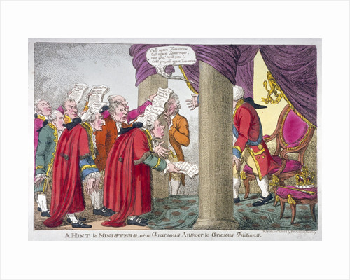 Petitioners before George III by Anonymous