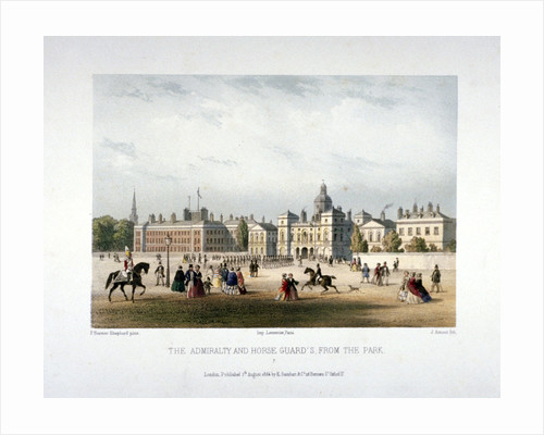 Admiralty and Horse Guards, Whitehall, Westminster, London by Corbis