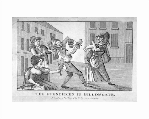 The Frenchmen in Billinsgate by Anonymous