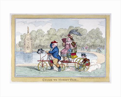 Going to Hobby Fair by Isaac Robert Cruikshank