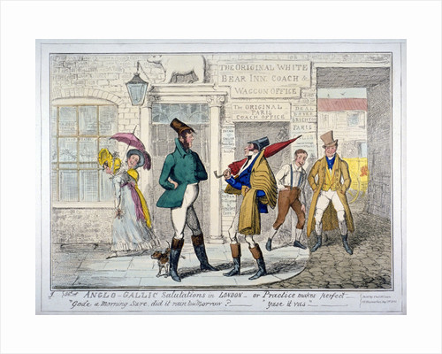 Anglo-Gallic salutations in London - or Practice makes perfect - by Anonymous