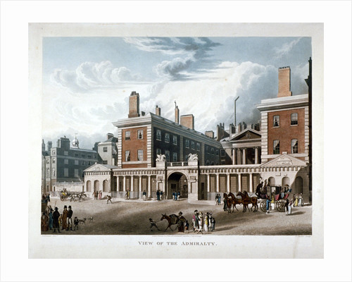 The Admiralty, Whitehall, Westminster, London by Joseph Constantine Stadler