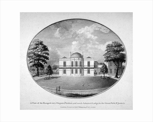 Ranger's Lodge in Green Park, Westminster, London by Anonymous