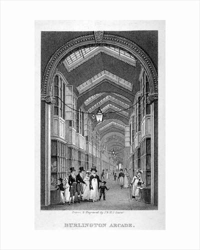 Burlington Arcade, Westminster, London by Henry Sargant Storer