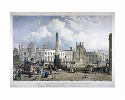 St George's Fields, Southwark, London by Louis Haghe