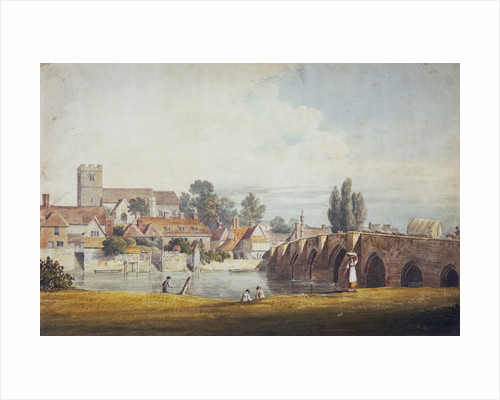 Aylesford, near Maidstone, Kent by James Duffield Harding