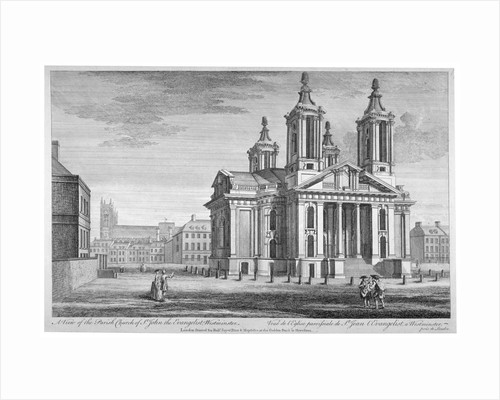 Church of St John the Evangelist, Westminster, London by Anonymous