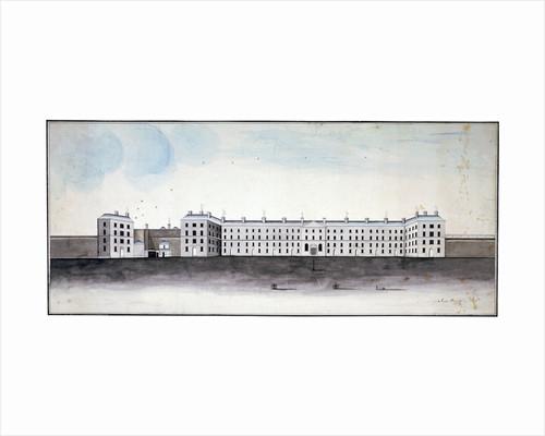 King's Bench Prison, Southwark, London by James Campling