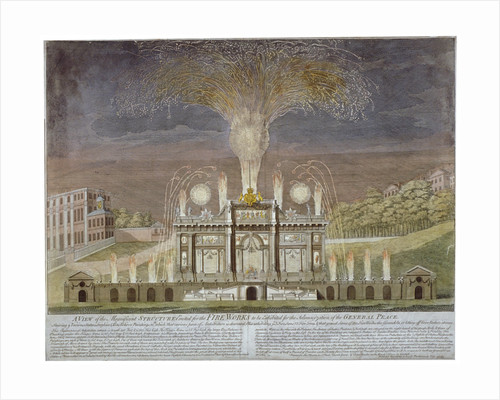 Fireworks in Green Park, Westminster, London by Anonymous