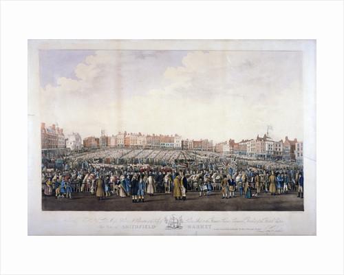 Smithfield Market, West Smithfield, City of London by