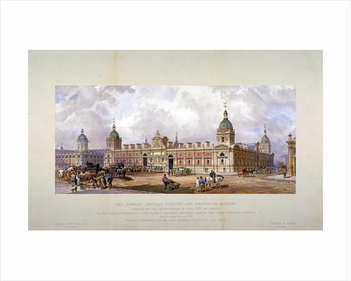 Smithfield Market, City of London by George Hawkins