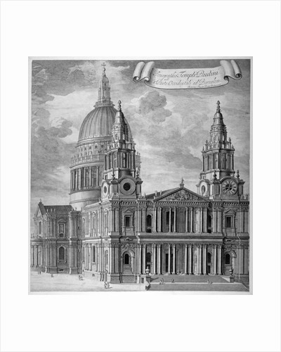 St Paul's Cathedral, City of London by Anonymous
