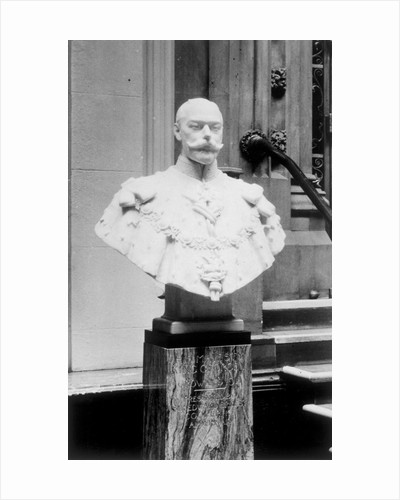 Portrait bust of King George V by George Frampton