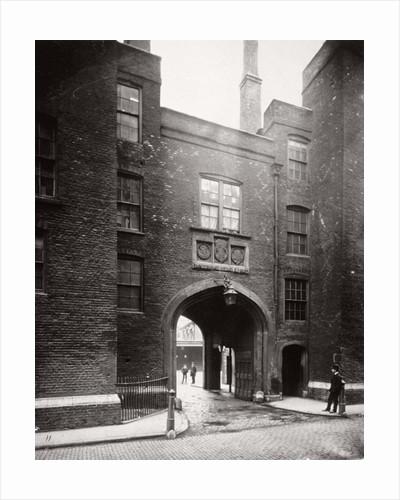 View of Lincoln's Inn Gatehouse, Holborn, Camden, London by Henry Dixon