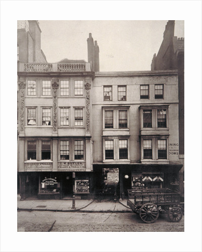 Aldersgate Street, City of London by Henry Dixon