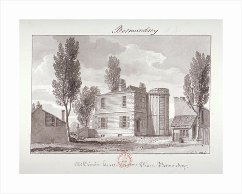 Old Printers House, Printers Place, Bermondsey, London by John Chessell Buckler