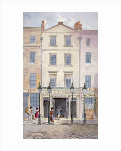 View of the Adelphi Theatre, Strand, Westminster, London by Anonymous
