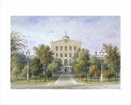 Bridewell Prison in Tothill Fields, Westminster, London by Thomas Hosmer Shepherd