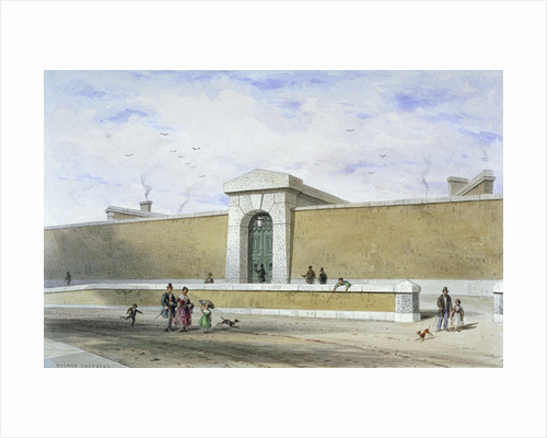 Gateway of Bridewell Prison, Tothill Fields, Westminster, London by Anonymous