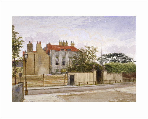View of Turret House, Lambeth, London by John Crowther