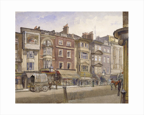 Nos 412-418 Strand, Westminster, London by John Crowther