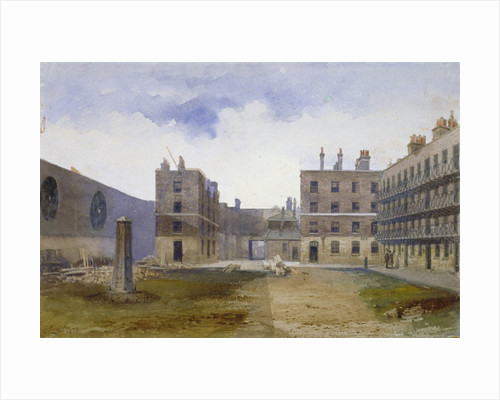 Queen's Bench Prison, Borough High Street, Southwark, London by John Crowther