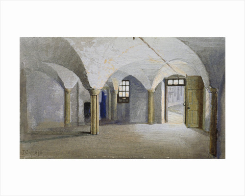 Interior view of Queen's Bench Prison, Borough High Street, Southwark, London by Anonymous