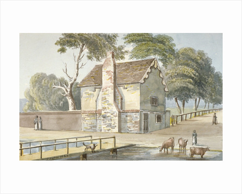 An almshouse in Carshalton, Surrey by James Yates