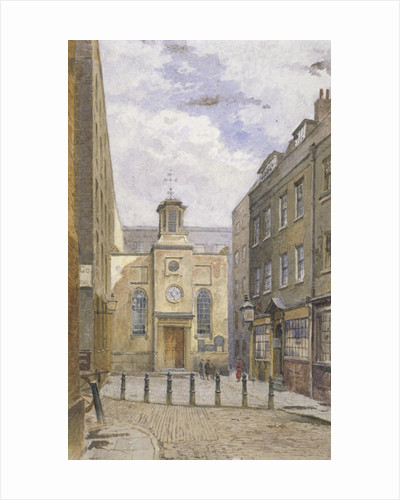 Church of the Holy Trinity, Minories, London by John Crowther
