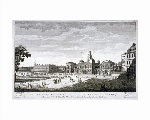 Horse Guards Parade from the south-west, Westminster, London by Anonymous
